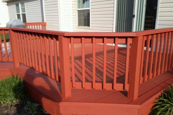 Carmel Indiana deck staining