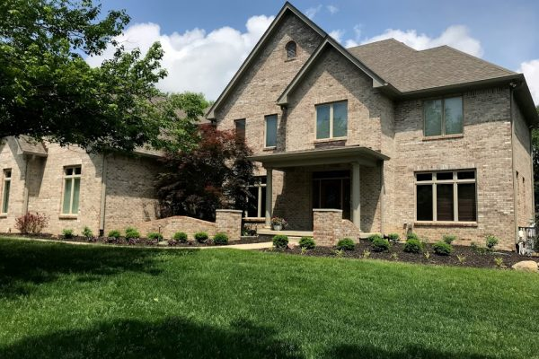 Zionsville exterior house painting