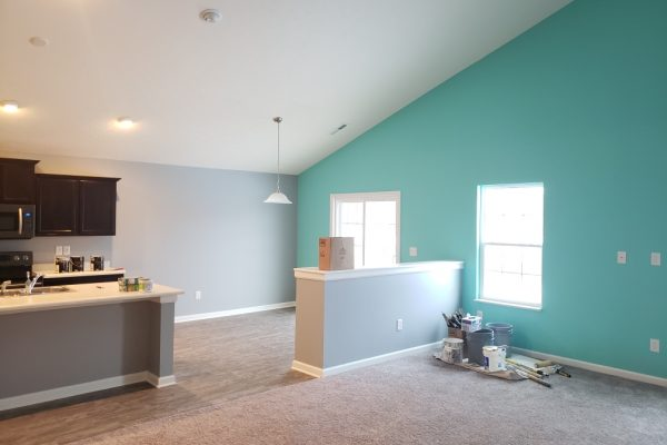 Fishers interior painting