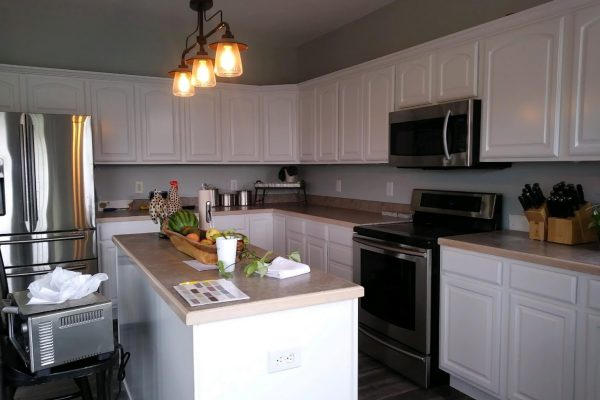 Kitchen cabinet painting Indianapolis