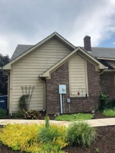 Exterior paint before indianapolis