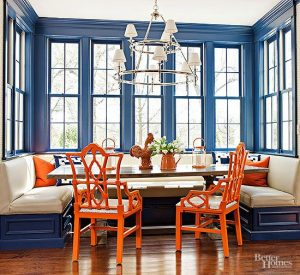 blue trim paint colors