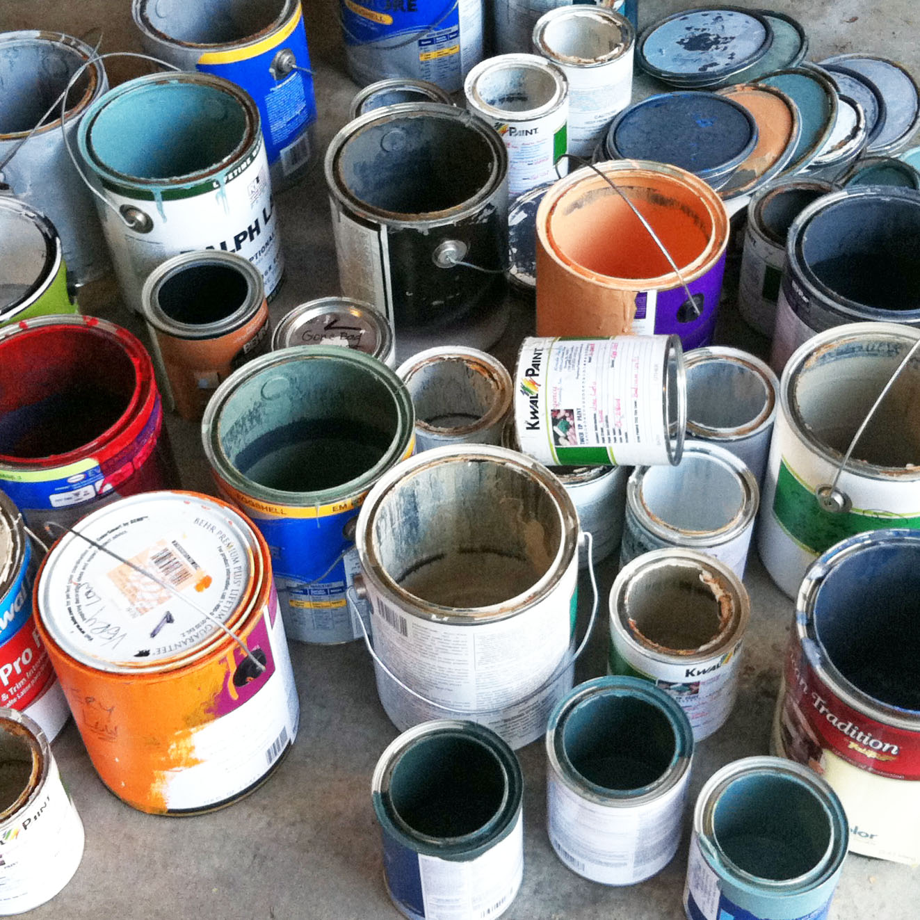 What you Need to Know about Paint Storage and Disposal