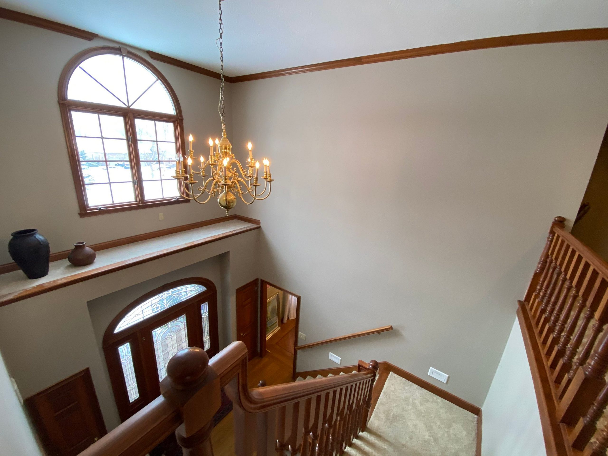 Project Spotlight: Interior Painting Gave this Greenwood, IN Foyer a Beautiful New Look!