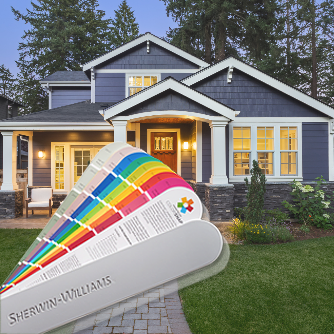 Top 7 Exterior Color Combinations: Featuring Sherwin-Williams ColorSnap Visualizer!