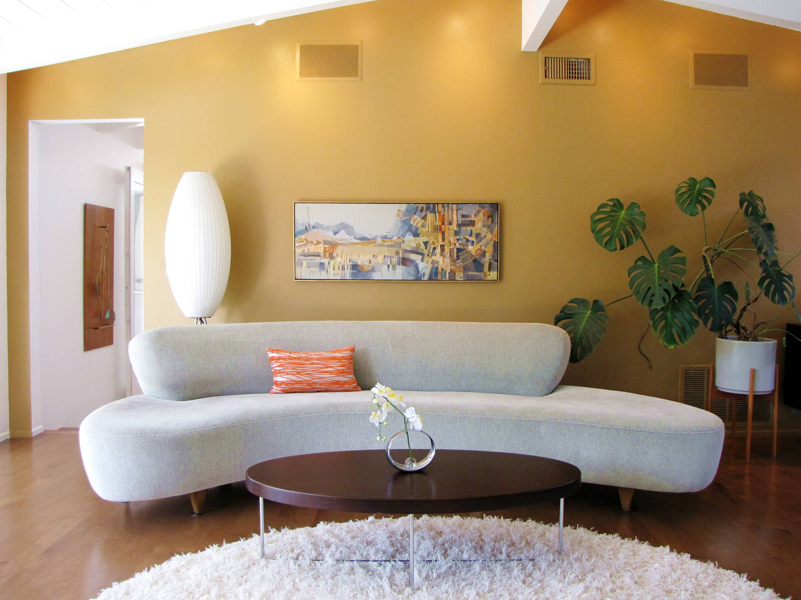The Perfect Paint Colors for your Mid-Century Modern Style Home